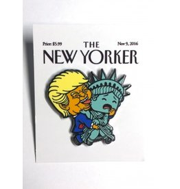 New Yorker Enamel Pin