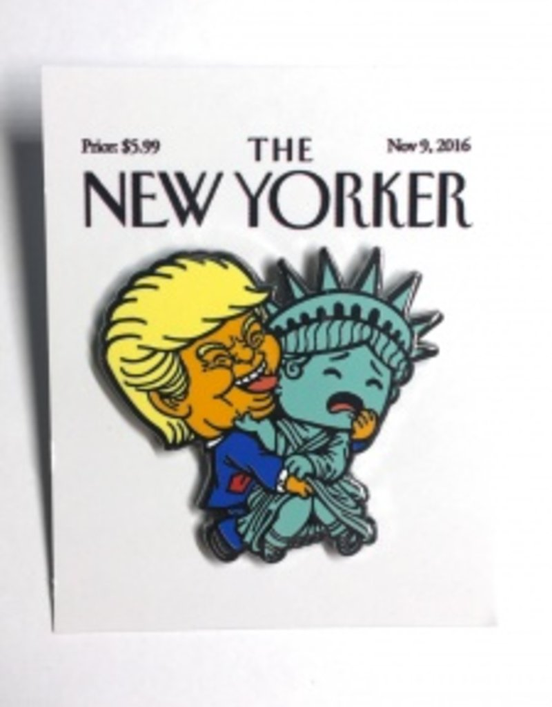 Super Emo Friends New Yorker Enamel Pin