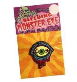 Bleeding Monster Eye Enamel Pin