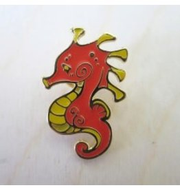 Little Seahorse Pin