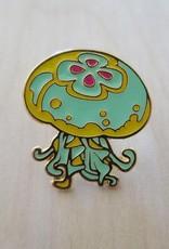 Vuduberi J is for Jellyfish Enamel Pin