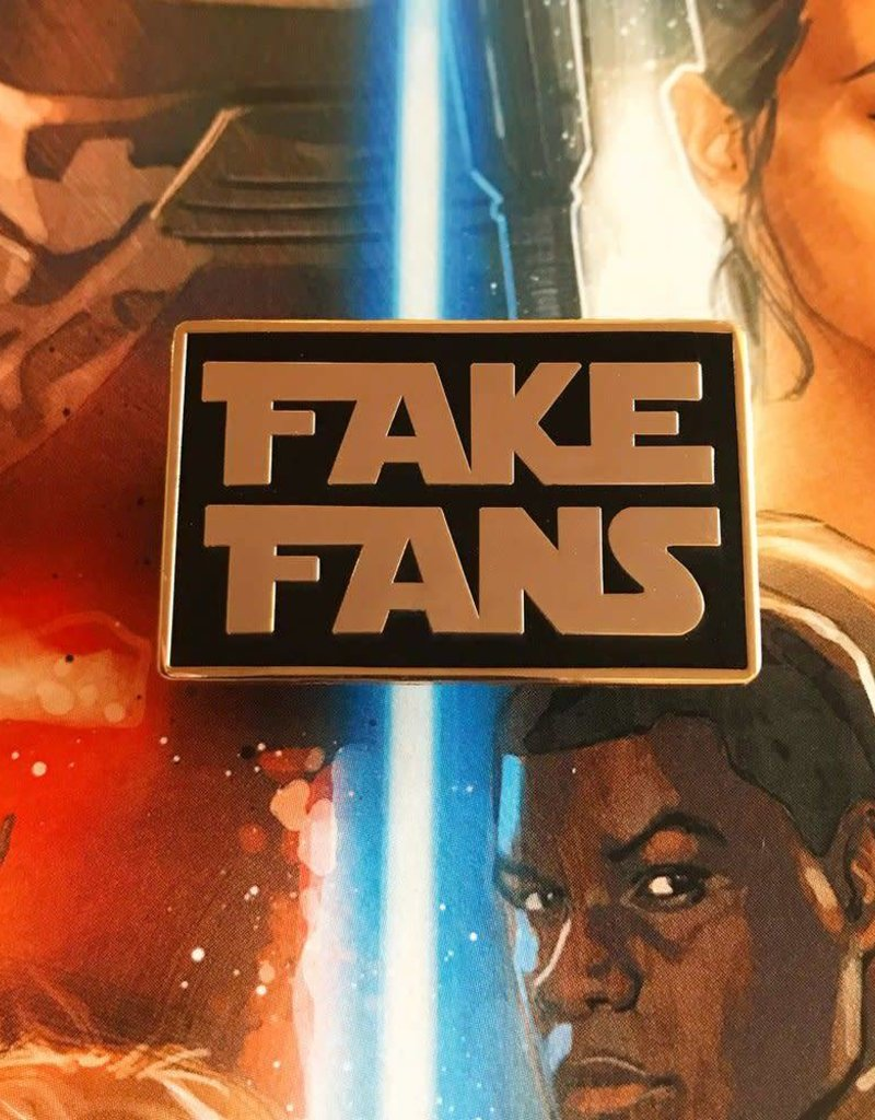 Punch It Chewie Press Fake Fans Pin
