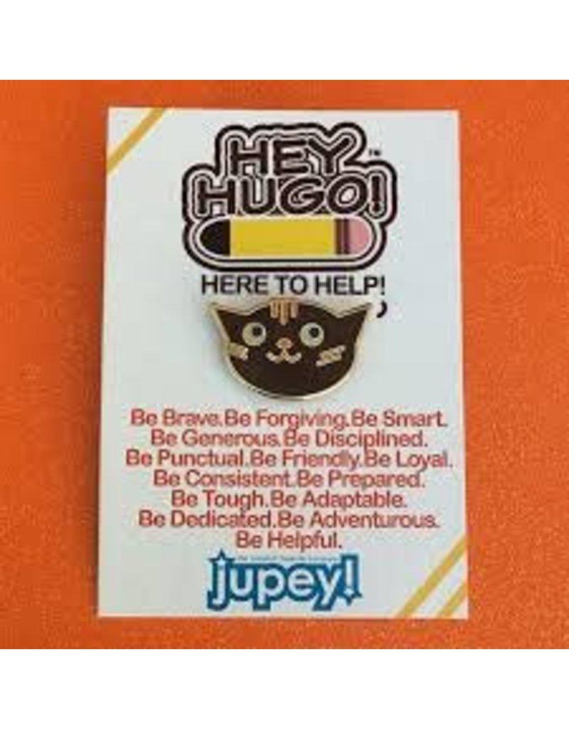 Hey Hugo Enamel Pin