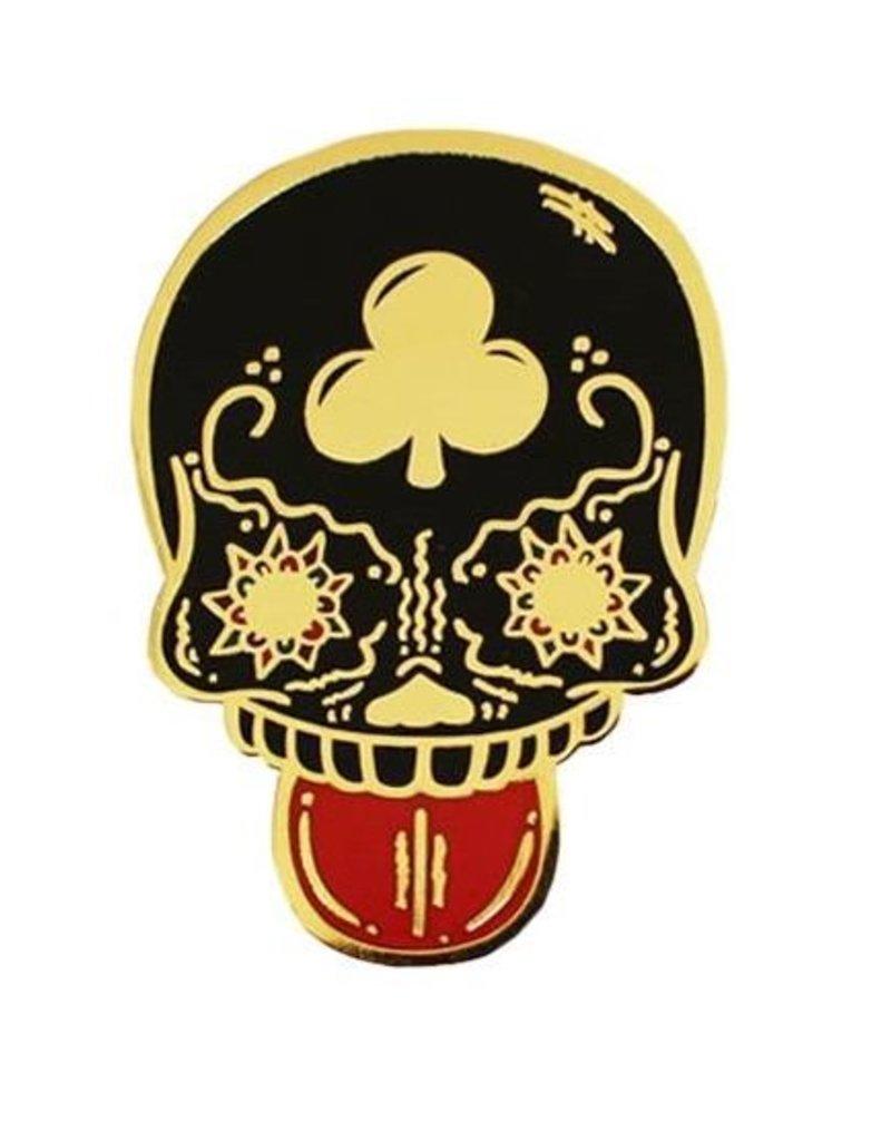 Creamlab Calavera Duro Pin (Black & Gold)