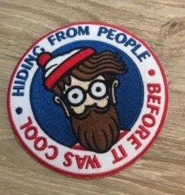 Clay Graham Original Hipster Patch