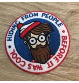 Original Hipster Patch