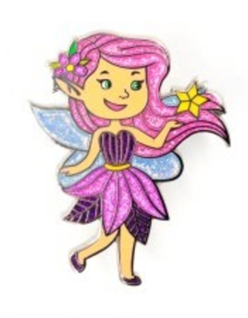 Little Shop of Pins Pink Fairy Pin