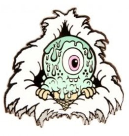 Buff Monster The Melty Misfits Rippin' Rodney Enamel Pin