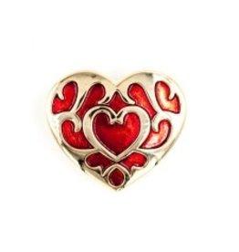 Zelda Heart Container Pin