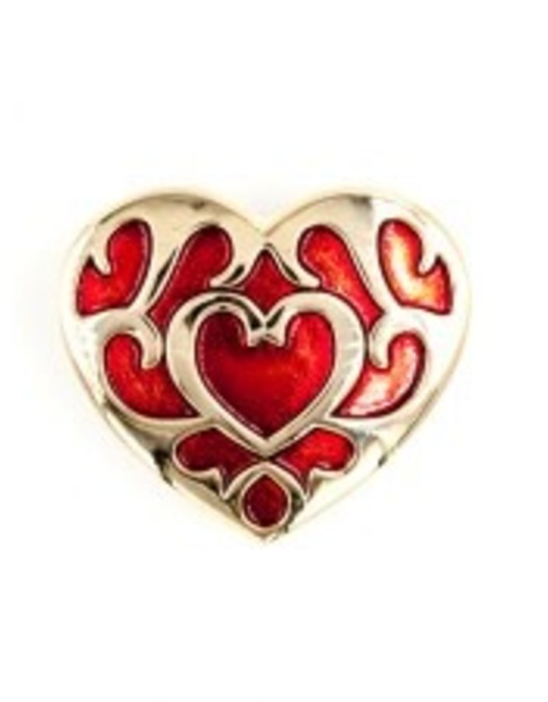 Little Shop of Pins Zelda Heart Container Pin