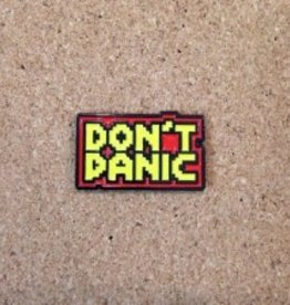 Toxic Toast Records Don't Panic! Pin