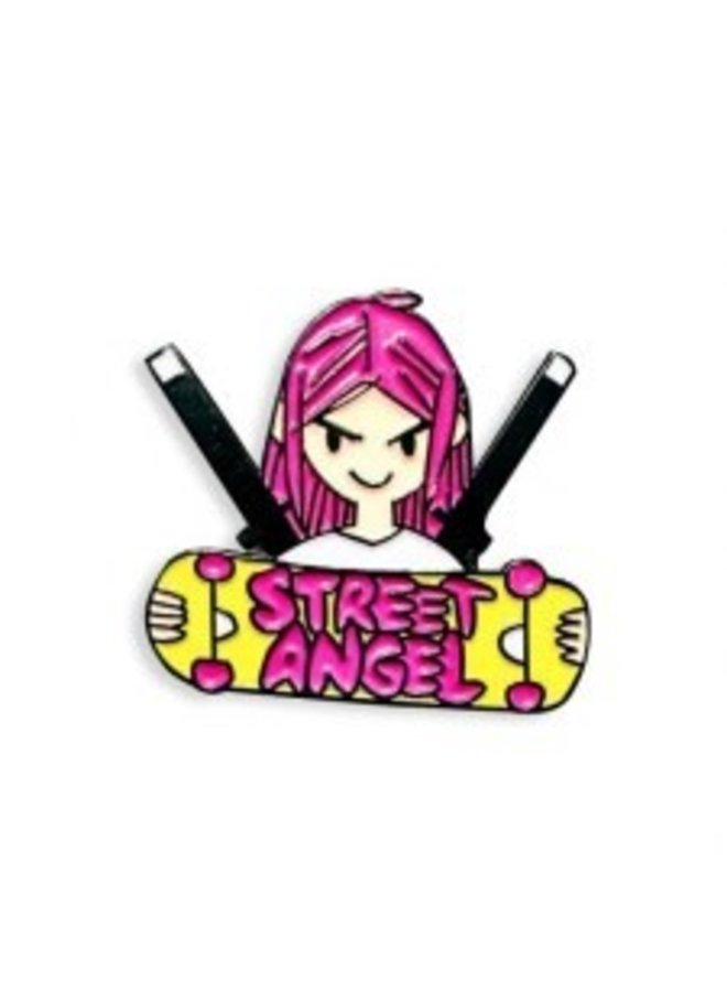 Street Angel Pin