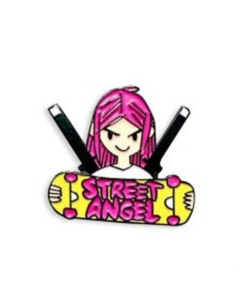 Street Angel Pin