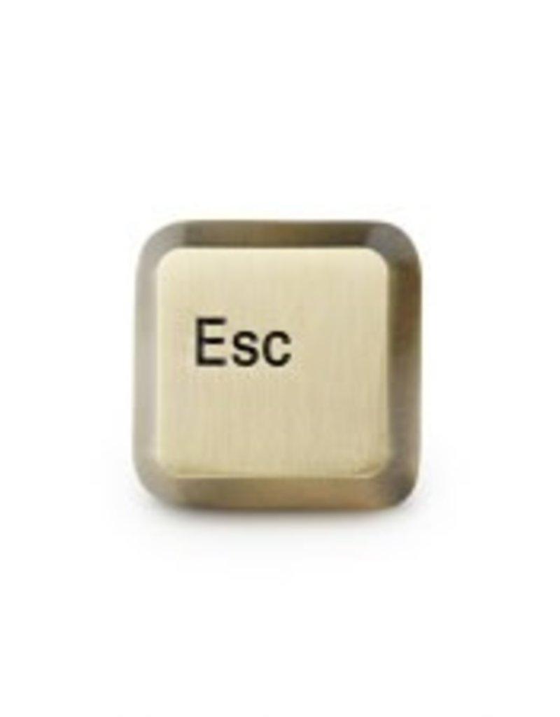 Mean Folk Esc Key Pin