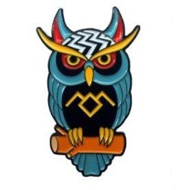 Twin Peaks Owl Pin
