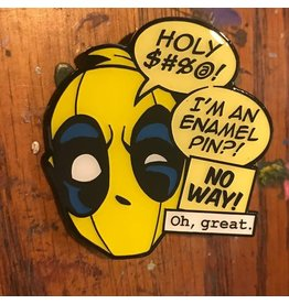 Headpool Pin - yellow