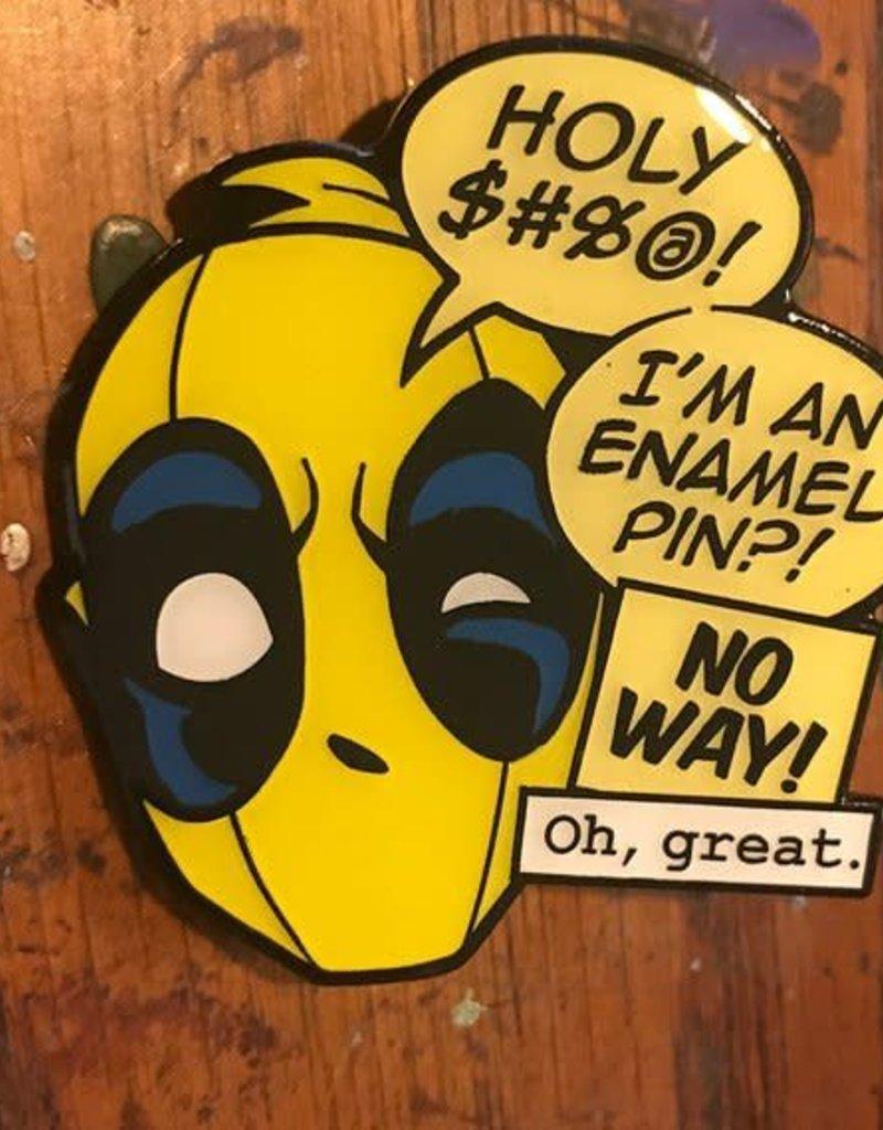 Clay Graham Headpool Pin - yellow