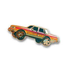 Nerdpins Box Chevy Pin