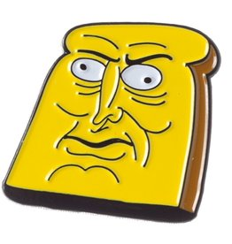 Thrillhaus Powdered Toast Man Pin