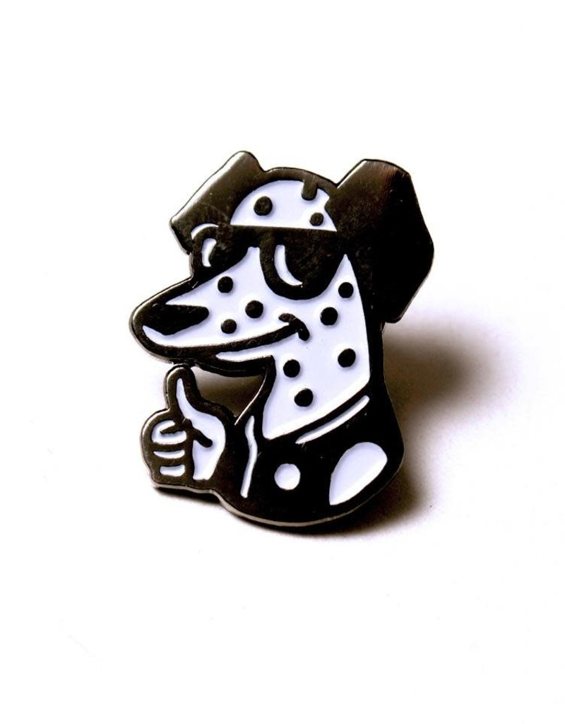 WKNDRS COLLECTIVE INC All Dogs Go To Heaven Pin