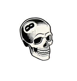 Creamlab 8 Ball Skull Pin