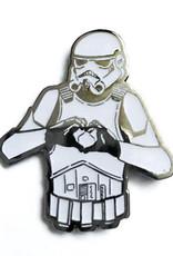 Jamie Lee Cortez I Heart U Stormtrooper Pin