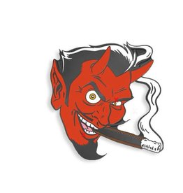 Smoking Devil by Coop