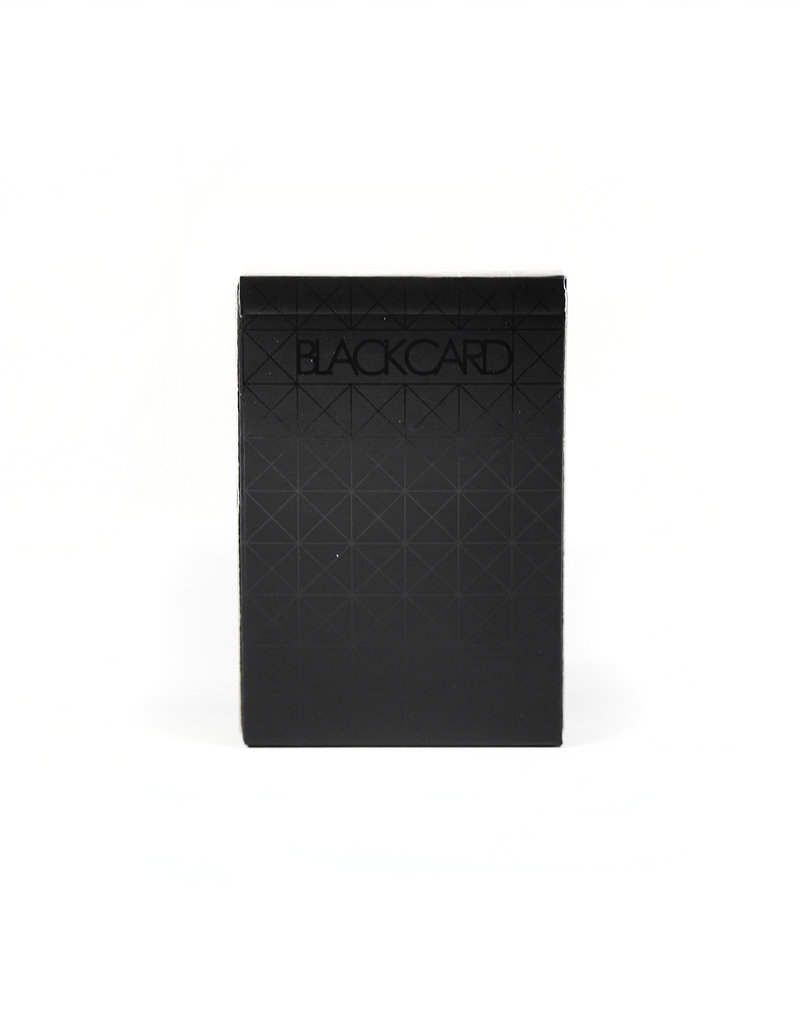 Balance Wu Design Black Deck of Playing Cards