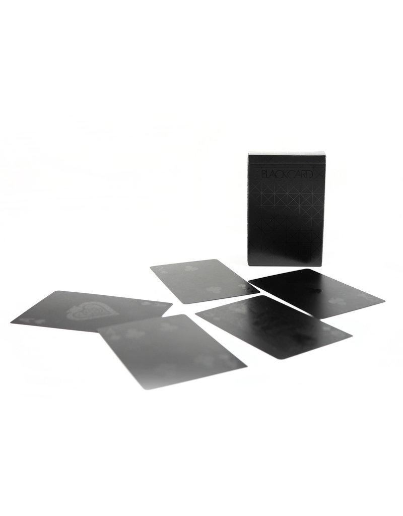Balance Wu Design Black Deck of Playing Cards