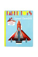 Arnaud Roi Speed Demons: 12 Paper Speed Demons to Build (Paper Toys)