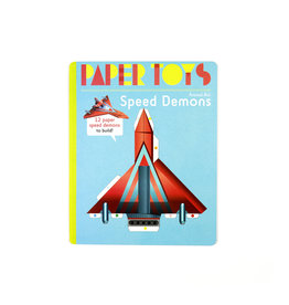 Arnaud Roi Speed Demons: 12 Paper Speed Demons to Build (Paper Toys)