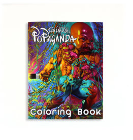 Ron English's Popaganda Coloring Book