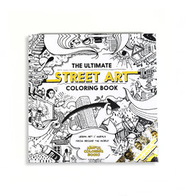 Diego Orlandini The Ultimate Street Art Coloring Book