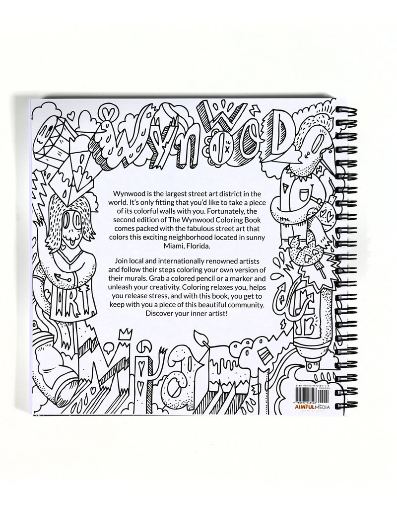 Diego Orlandini The Wynwood Coloring Book (Second Edition)
