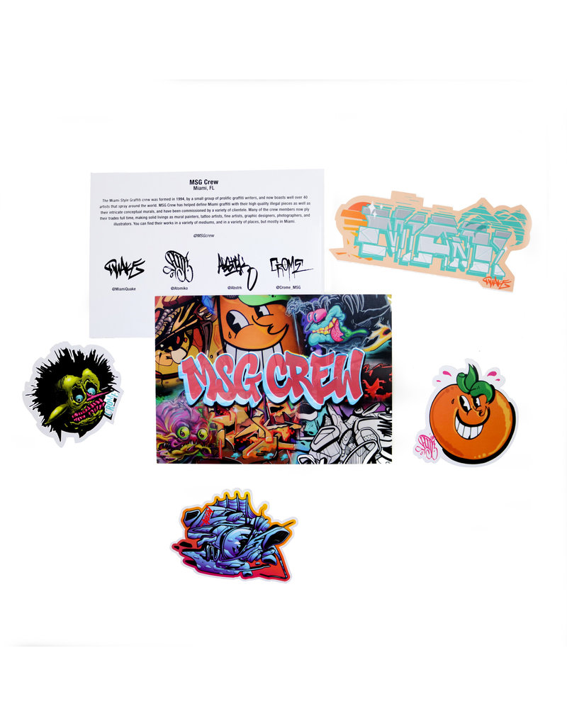 MSG Crew Sticker Pack Series I