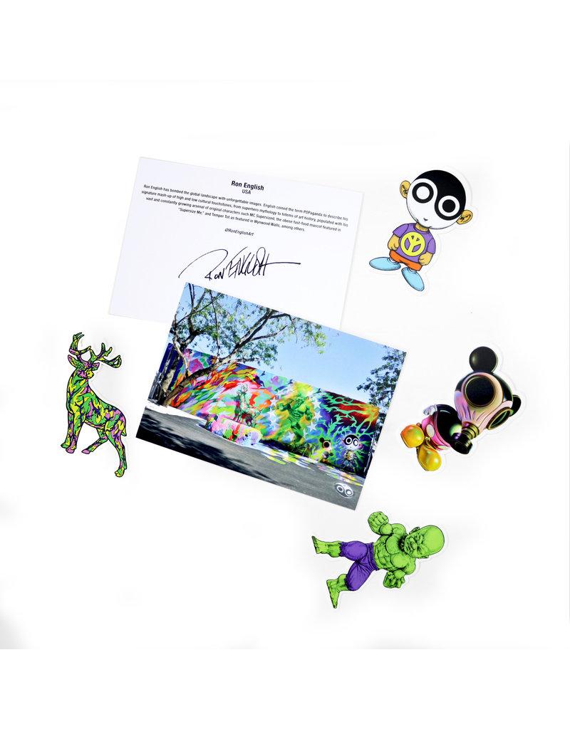 Ron English Sticker Pack Series I