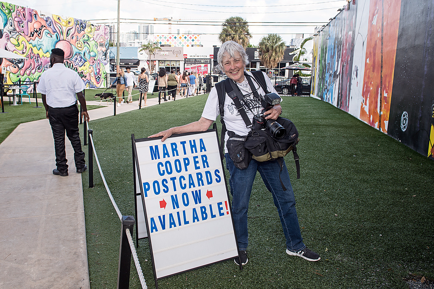 MARTHA COOPER AT THE WYNWOOD WALLS