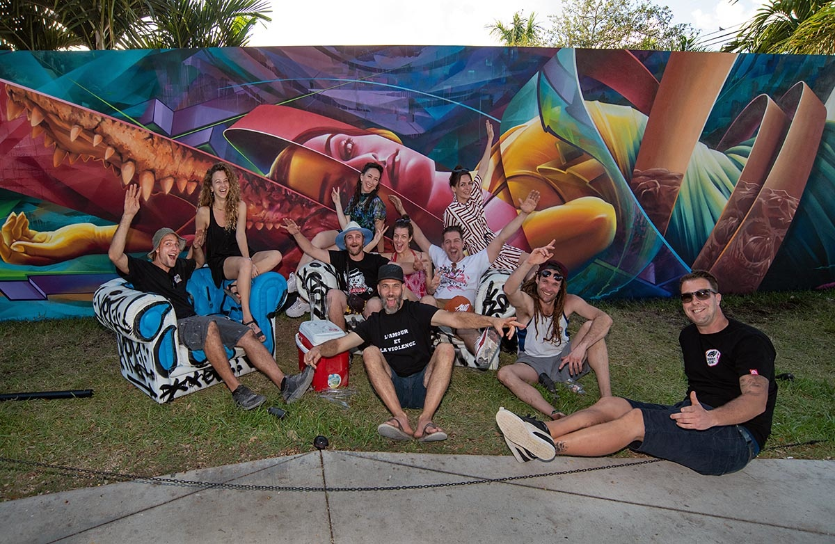 ASHOP AT THE WYNWOOD WALLS BY MARTHA COOPER