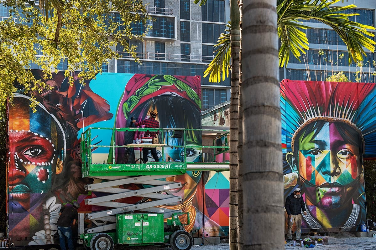 KOBRA AT THE WYNWOOD WALLS BY MARTHA COOPER