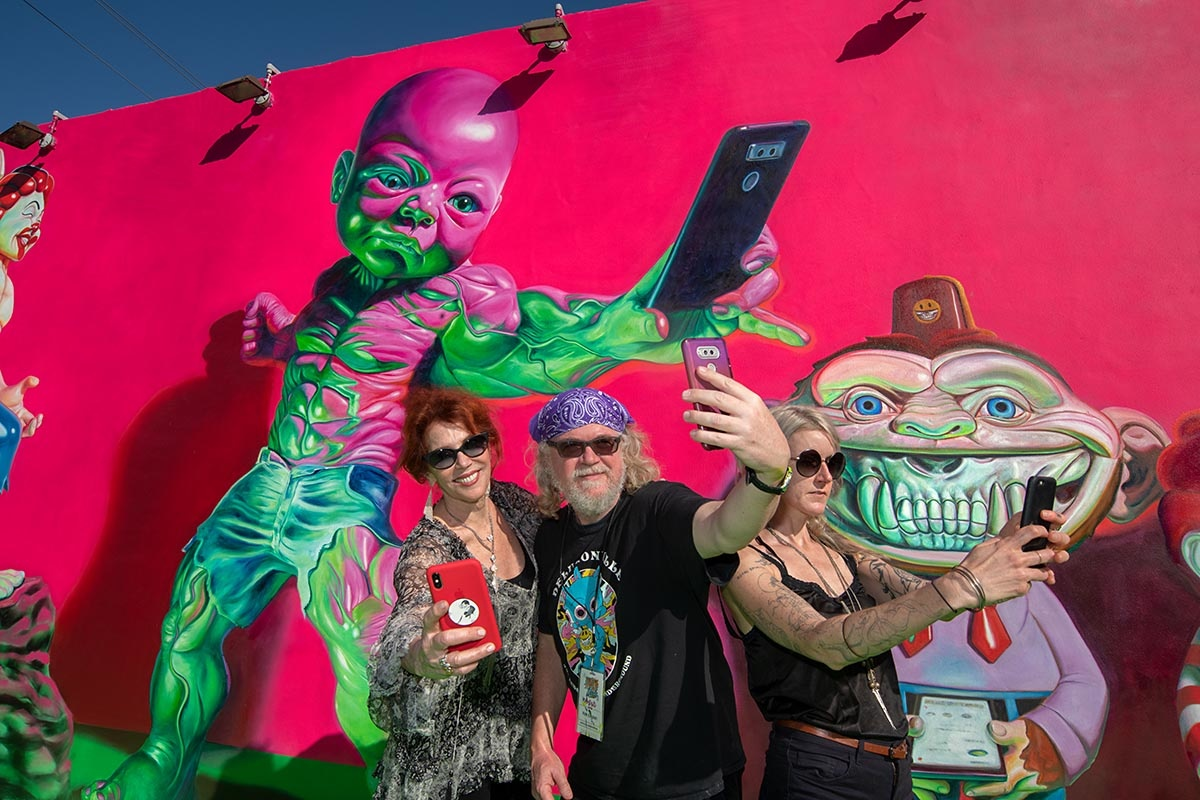 RON ENGLISH AT THE WYNWOOD WALLS BY MARTHA COOPER