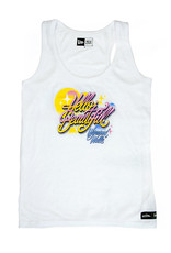 Queen Andrea Queen Andrea x Wynwood Walls Ladies Tri-blend racer back tank