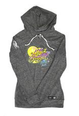 Queen Andrea Queen Andrea x Wynwood Walls Ladies Tri-blend jersey pullover hoodie