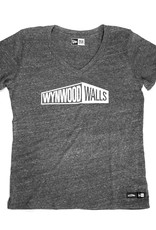 New Era New Era x Wynwood Walls Ladies Tri-blend v-neck