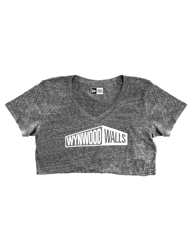 New Era x Wynwood Walls Ladies Tri-blend v-neck