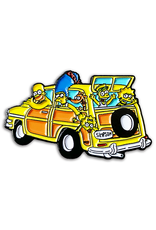 Nerdpins Family Trip Simpsons Pin