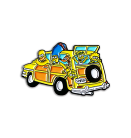 Nerdpins Family Trip Simpsons Pin