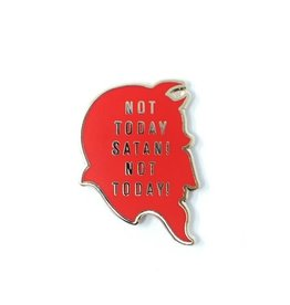 Yesterdays Co Not Today Satan by Brian Ewing Pin