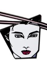 Patrick Nagel Patrick Nagel - Woman in Profile