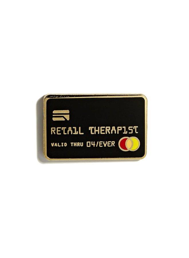 Retail Therapist Pin