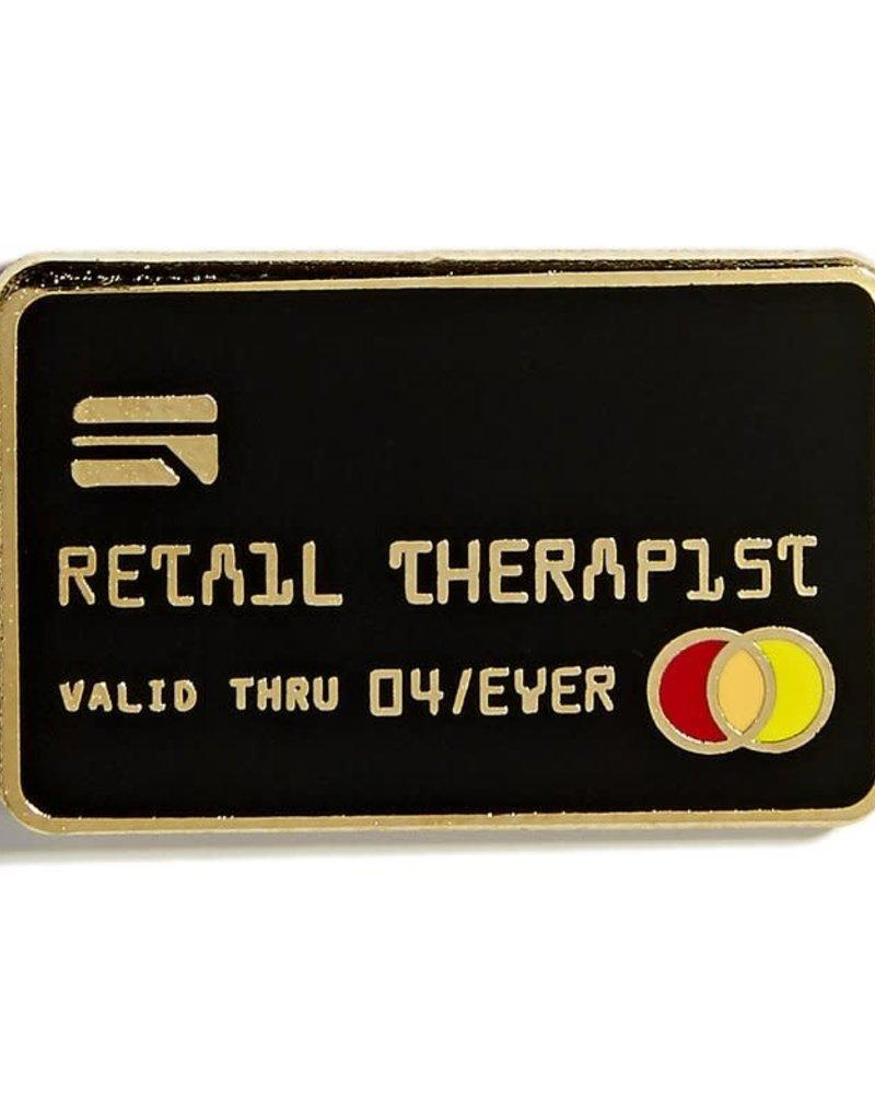 Pintrill Retail Therapist Pin